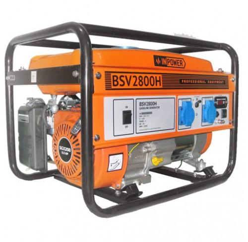 Генератор бензиновий InPower BSV2800H 2.5/2.8 кВт