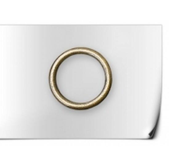 Кільце металічне 25 (10 шт) АНТИКО