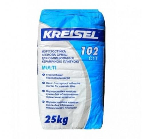 Клеюча суміш для плитки KREISEL MULTI 102/25кг