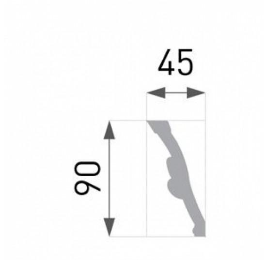 Плінтус для стелі B-51