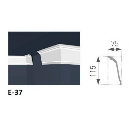 Плінтус для стелі E-37
