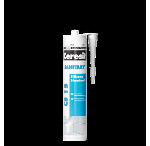 Санітарний силіконовий герметик CS 15 (білий)