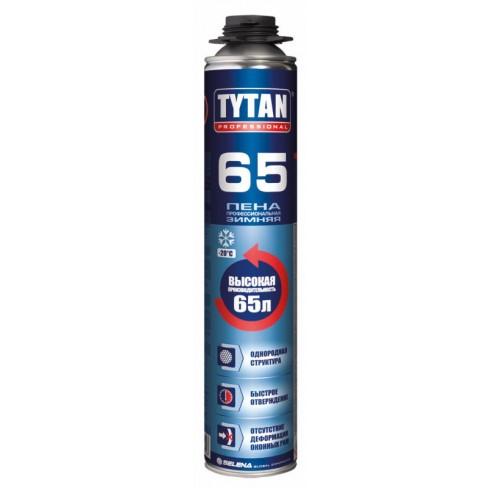 Піна монтажна 750мл Tytan 02 65 Gun B3 зимова проф.