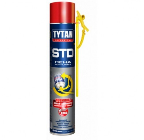 Піна монтажна 750мл Tytan 02 Ergo