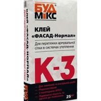 Будмікс К-3/25 кг клей фасад-нормал для армсітки
