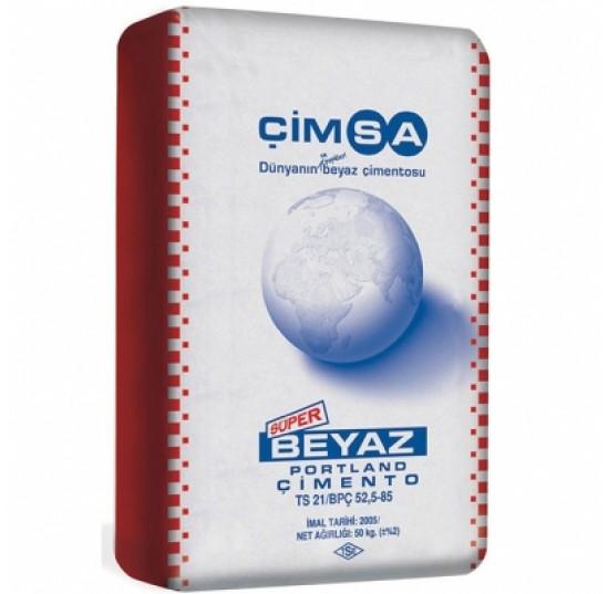 Цемент білий 25кг CIMSA