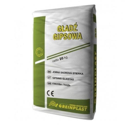 Шпаклівка гіпсова гладь Greinplast GG 20кг