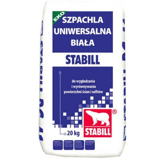 Гіпс шпакльовий Stabill PSZ-11 ЕКО 20кг універсальний