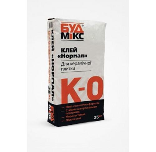 Будмікс К-0/25 кг клей для керамічної плитки НОРМАЛ