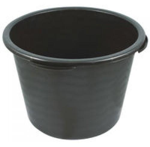 Відро 12л будівельне пластмасове чорне